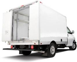 Изотермический фургон HLM, алюминий K<0,37